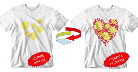 Renk Değiştiren Nano Teknolojik T-shirt