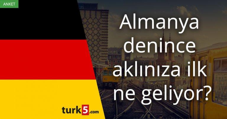 Almanya denince aklınıza ilk ne geliyor?