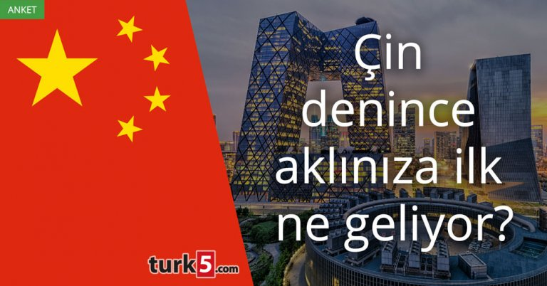 Çin denince aklınıza ilk ne geliyor?