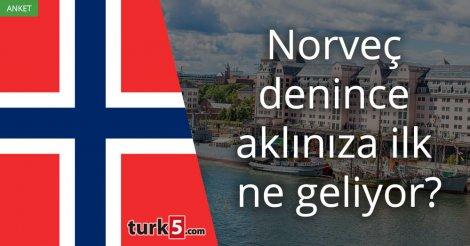 [Anket] Norveç denince aklınıza ilk ne geliyor?