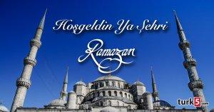 Hoşgeldin Ya Şehri Ramazan