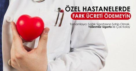 Özel Hastanelerde Fark Ücreti Ödemeyin