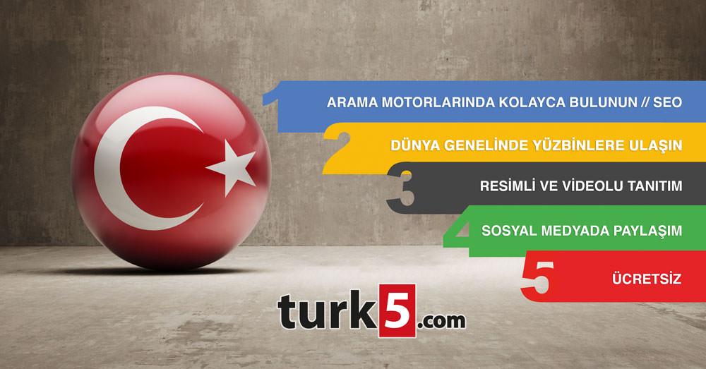 Neden turk5.com'a Firmanızı Eklemelisiniz?