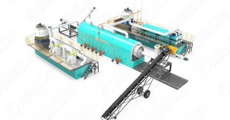 Continuous Tyre Pyrolysis Plant Project Report Discussions
