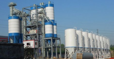 Equipment For A Dry Mortar Production Line
