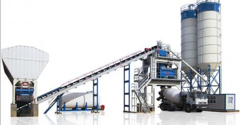 The Principle Types Of Our Concrete Batching Plants