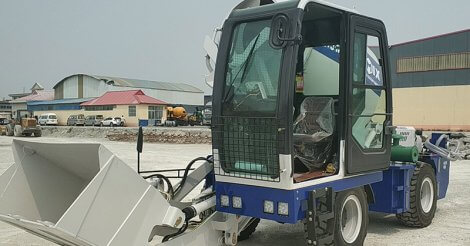 A Fantastic Self Loading Concrete Mixer Available For Sale