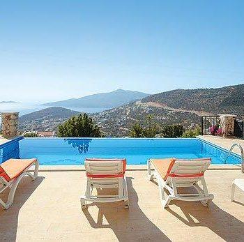 Antalya Kalakan'da özel havuzlu lüks villa