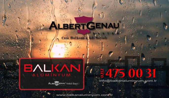 Albert Genau Isıcamlı Cam Balkon Sistemleri