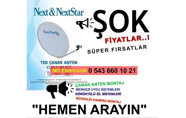 Next & Nexstar 70cm Çanak Anten