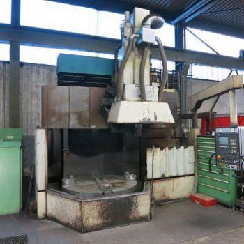 CNC Dik Torna Makinesi