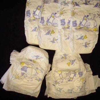 Hasta ve Çocuk Bezleri   Patient and Diapers