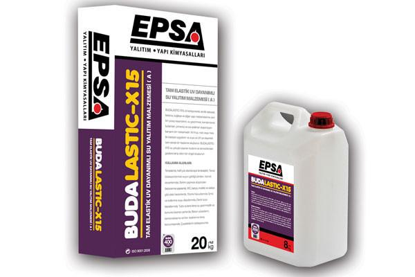 Epsa BudaLastic-X15 (A+B) Tam ElastikUV Dayanımlı Su Yalıtım Malzemesi