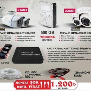 Güvenlik Kamerası Antalya | Hakan Güvenlik