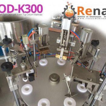 Tam Otomatik El Beslemeli Krem Tüp Dolum Makinası | ROD-K300