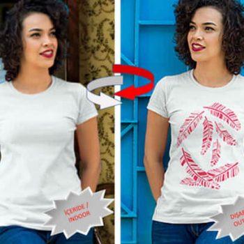 Sadece Sokakta Görünen Nano Teknolojik T-Shirt