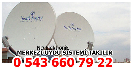 Çankaya Uydu Çanak Anten Kurulum Montaj Hizmetleri