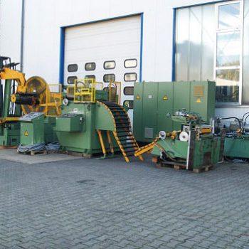 Rulo Sac Açıcı ve Dogrultma Makinesi - 630mm