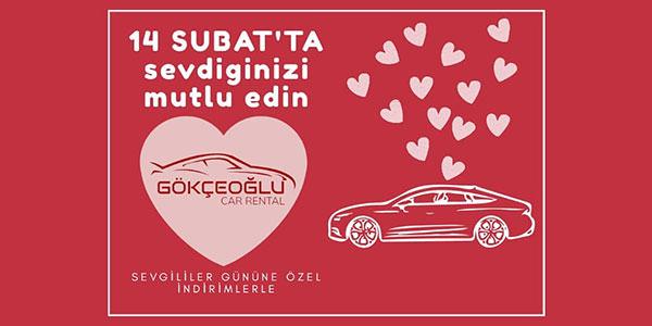 Sevgililer Günü | Gökçeoğlu Rent a Car