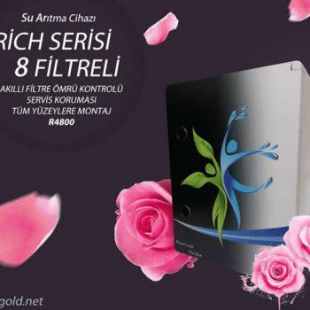 Rich Serisi 8 Filtreli Su Arıtma Cihazı R4800