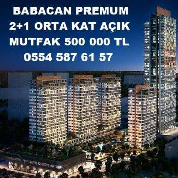 Babacan Premium'da Satılık Daire