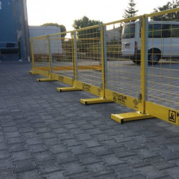 Sabit Direkli Güvenlik Bariyeri (1,25 M)