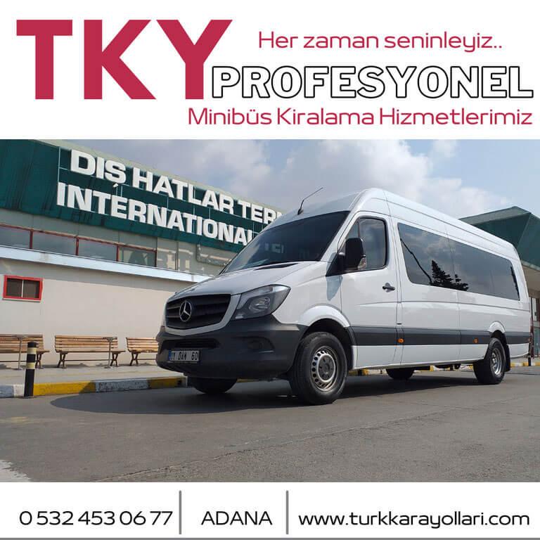 Adana Minibüs Kiralama