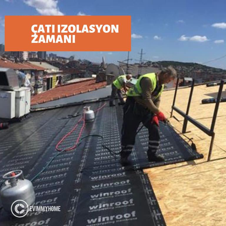 Çatı İzolasyon - Çatı Aktarma - Çatı Onarım