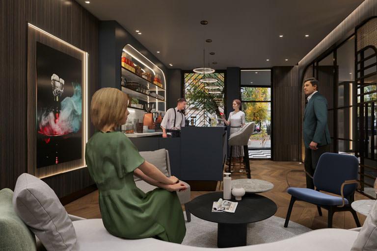 Cafe Tasarımı   Londra