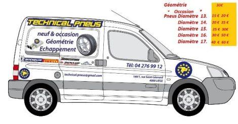 Technical Pneus