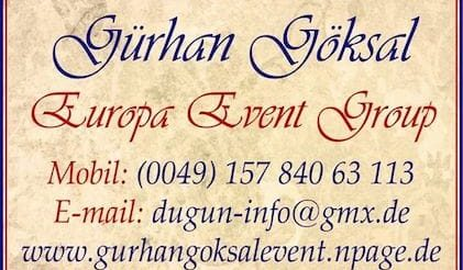 Gürhan Europe Event Group Catering Service GmbH