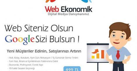Web Ekonomik Web Tasarım & Dijital Medya Hizmetleri