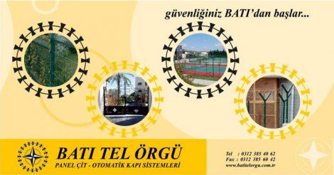 BATI TEL ÖRGÜ PANEL ÇİT SİSTEMLERİ