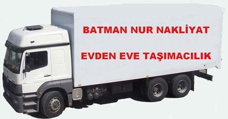 Batman Nur Evden Eve Taşıma