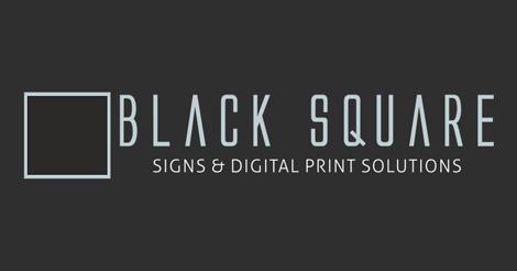 Black Square Signs