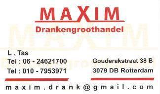 Drankengroothandel Maxim