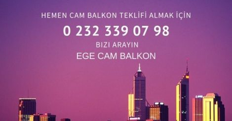 Ege Cam Balkon