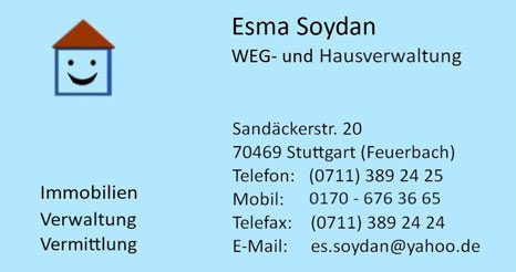 Esma Soydan | WEG- und Hausverwaltung