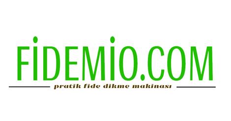 Fidemio | Kolay Fide Dikme Aleti