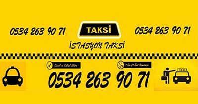 İstasyon Taksi   İzmir - Tire