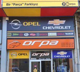 Orpa Otomotiv Nak. Tur. İnş. Tic. Ltd. Şti.