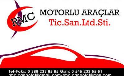 RMC Motorlu Araçlar tic. san. ltd. şti.