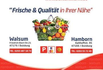 Şentürk Marketler (Duisburg, Walsum & Hamborn)