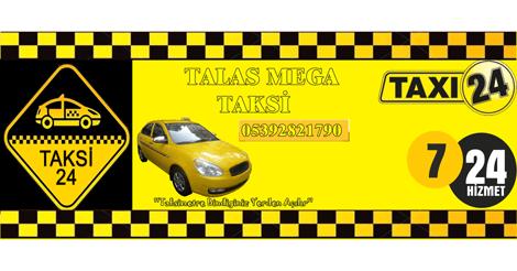 Talas Taksi | Mega Taksi