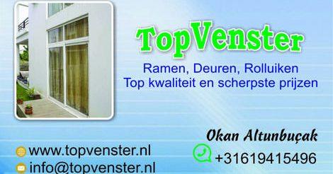 TopVenster | Fenster, Türen & Rolladen
