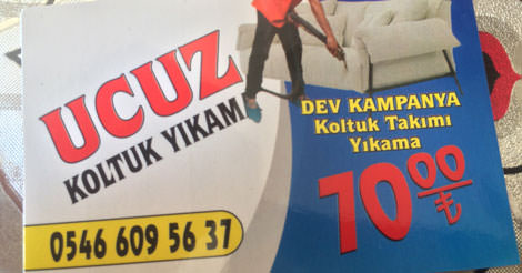 Ucuz Koltuk & Baza Yatak Yıkama