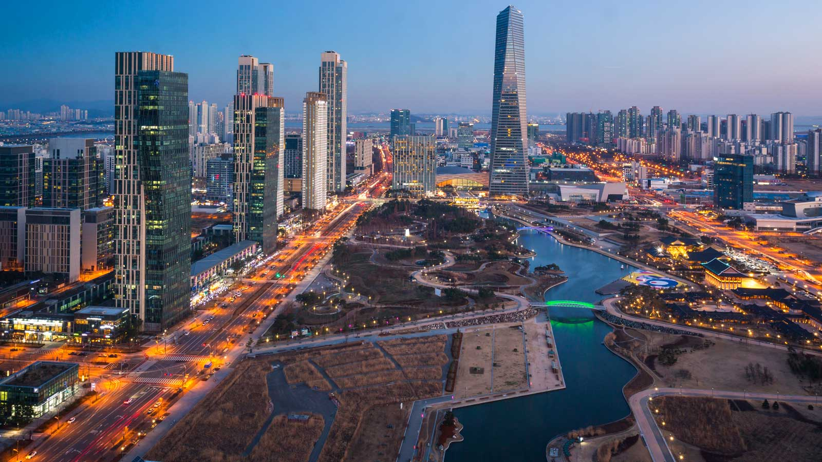Incheon'daki Türk Firmaları