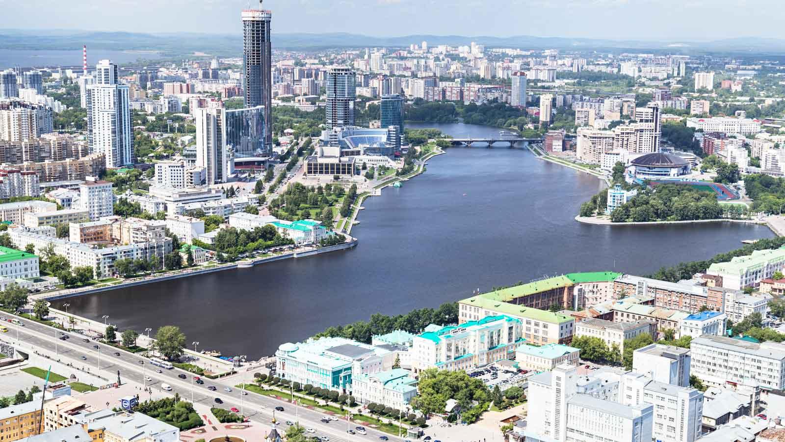 Yekaterinburg'daki Türk Firmaları