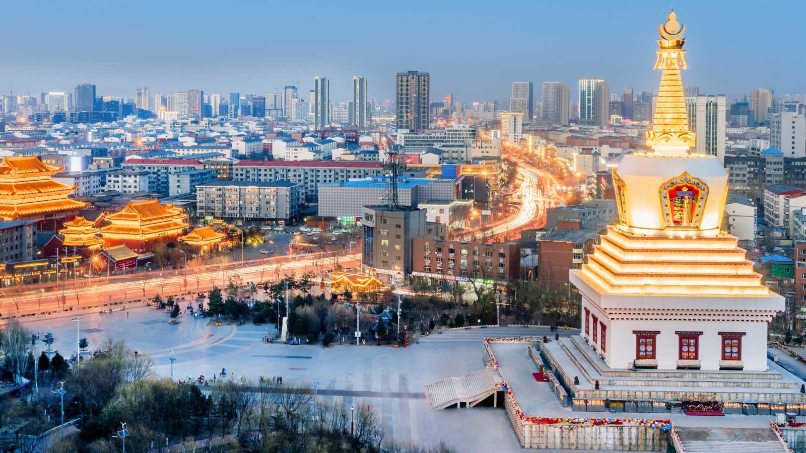 Hohhot'taki Türk Firmaları