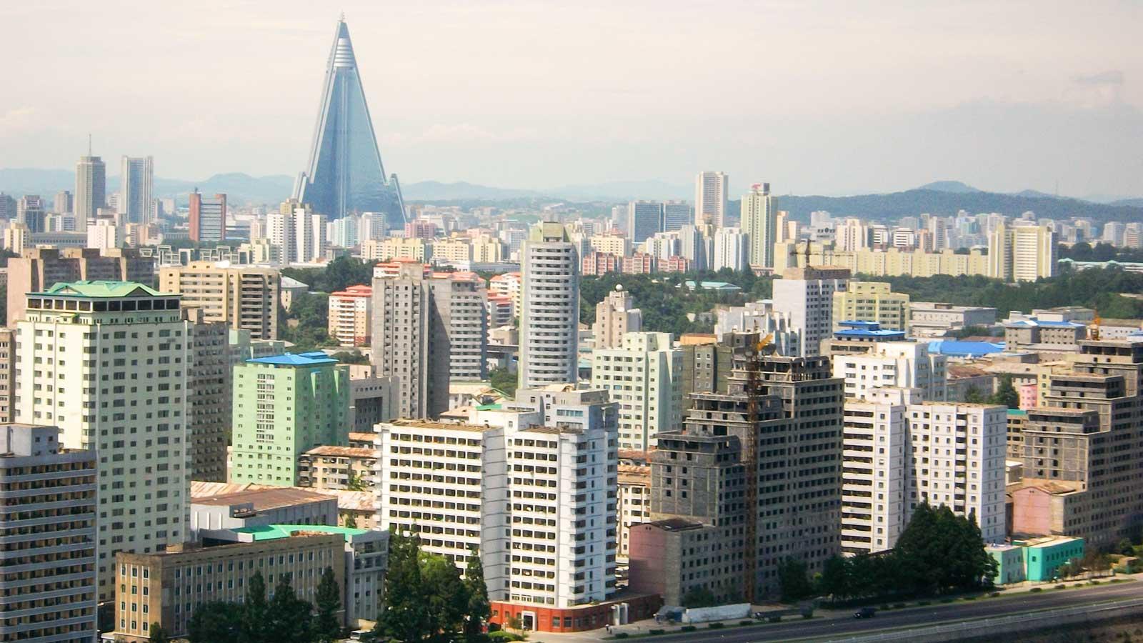 Pyongyang'daki Türk Firmaları